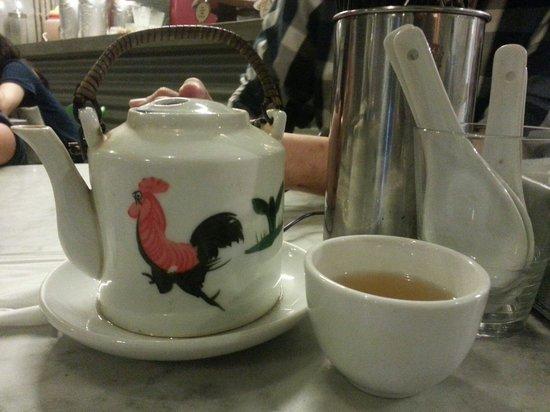 Fat Spoon : Lemongrass tea