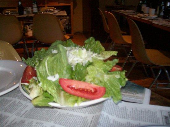 Spruce Head Pizza : Salad