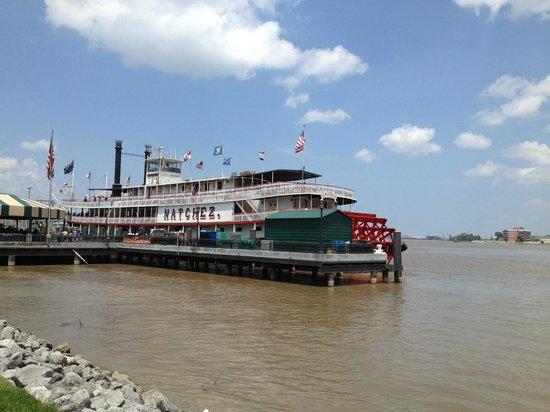 Steamboat Natchez: The Boat!