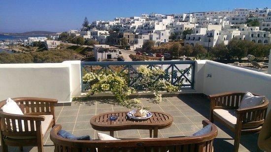 Alexandros Studio Apartments: Great view