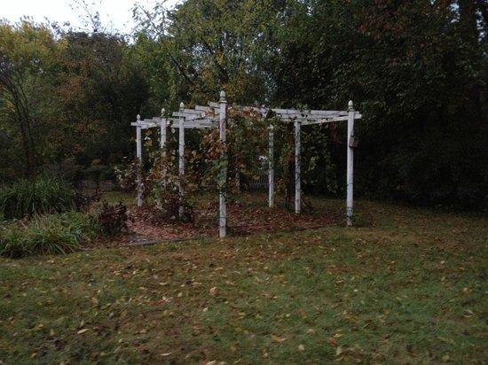 Bridgewater Inn & Cottage LLC: Pergola and great back yard