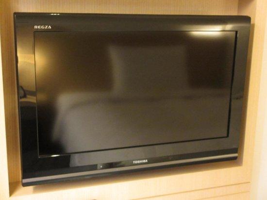 Hakata Tokyu REI Hotel: REGZA TV