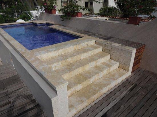 La Casa del Farol Hotel Boutique : Roof top pool