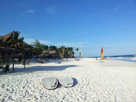 Villa Las Estrellas: Der wunderbare Strand
