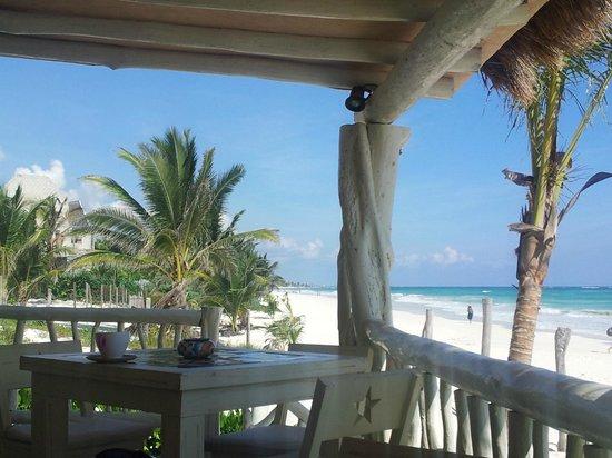 Villa Las Estrellas: Blick von Restaurant/Bar