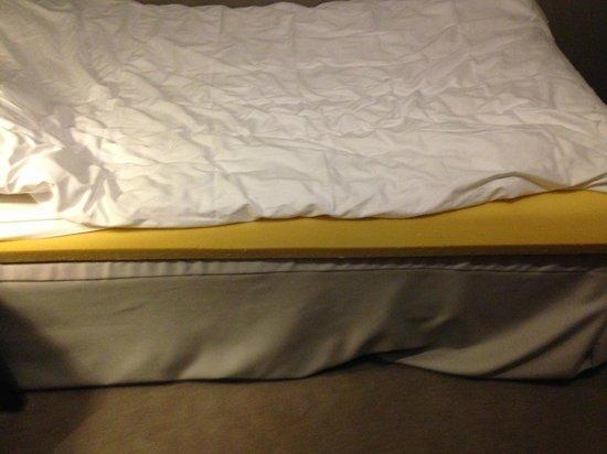 Saga Hotel Oslo: Bed mattress