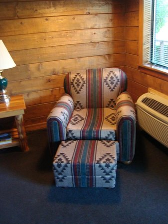 Tenkiller Lodge: beautiful furniture