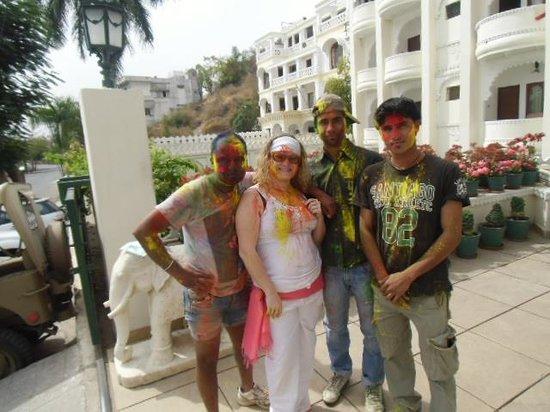 Hotel Swaroop Vilas: Fiesta Holi