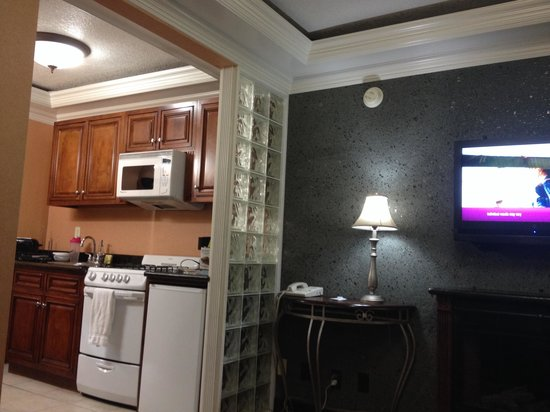 Park Vue Inn: Kitchenette