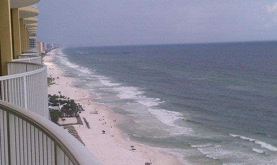 Emerald Isle Resort and Condominiums: view from balcony floor 20