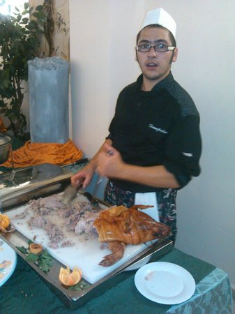 Club Marmara Janna e Sole : porc de lait