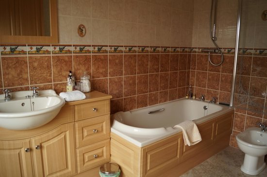 Meadowcroft Bed and Breakfast: Bathroom for Swaledale Room