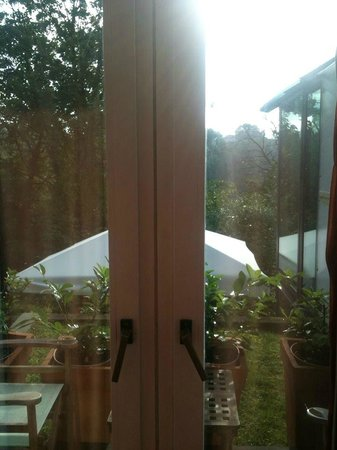Hotel President Pantovcak : view from the room