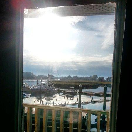 Cape Ann's Marina Resort : Our hotel door.