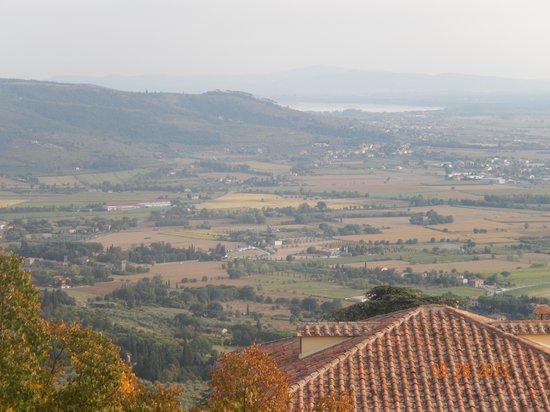 Villa Marsili: View from hotel room window