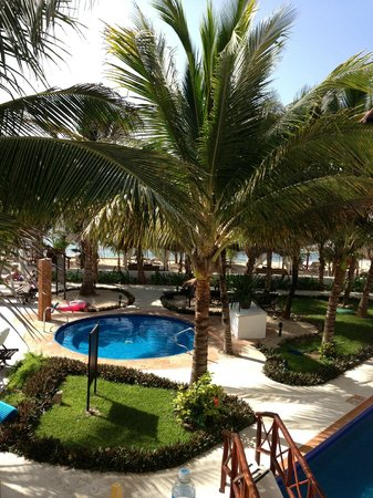 Hidden Beach Resort by Karisma: Hot tub from Room