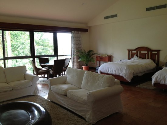Tabacon Thermal Resort & Spa: Our beautiful room