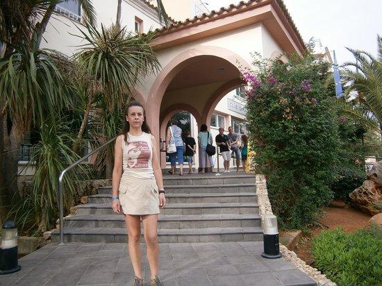 HYB Eurocalas : Entrada al hotel