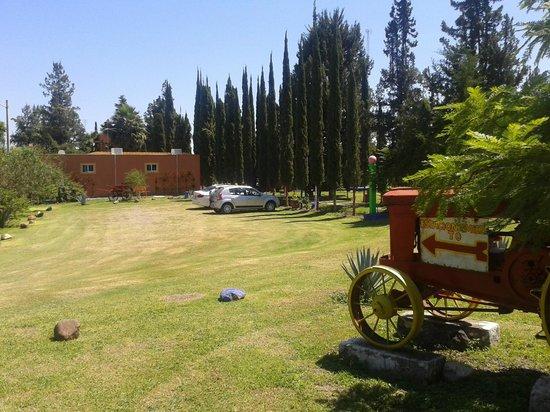 La Malanca Hotel & Spa: El estacionamiento
