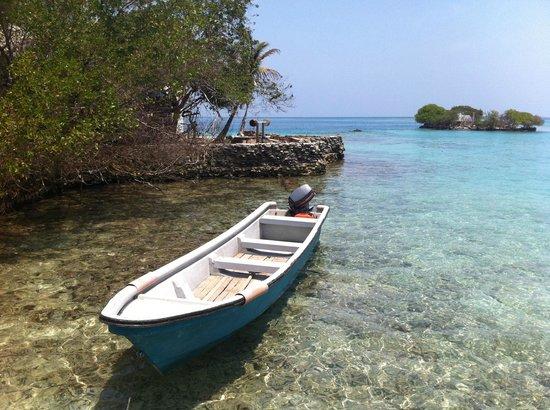 Tours in Rosario islands: Aguas cristalinas