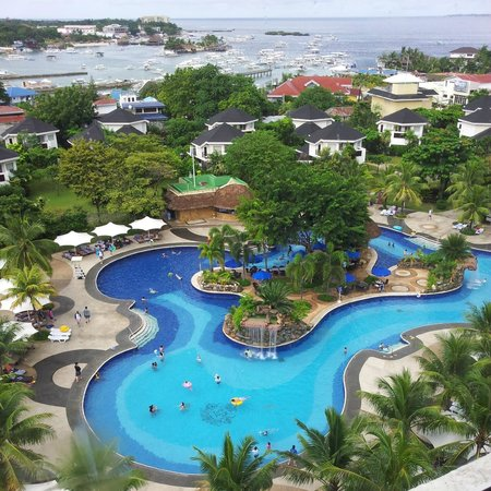JPark Island Resort & Waterpark, Cebu: view from our room