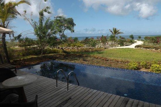 The Residence Zanzibar: Plunge pool
