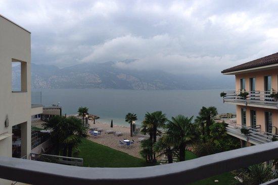 Hotel Castello Lake Front: Panorama dalla nostra camera
