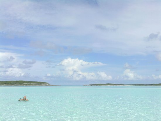 Exuma Water Sports: Somewhere on the water