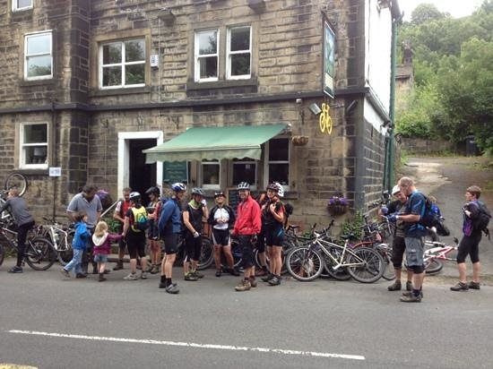 Robin Hood Pub: Bike friendly pub