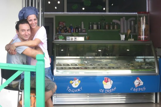 Gelateria Italiana Verderosa : Immer fröhlich
