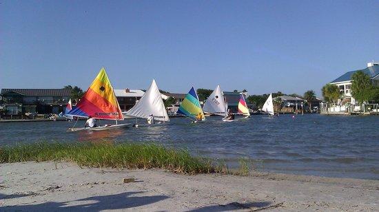 Rockport Beach : Nice Sunfish launch area