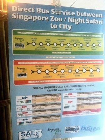 Singapore Zoo: MUY FACIL LLEGAR