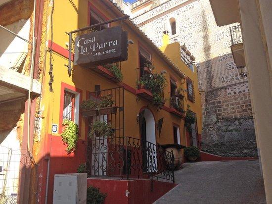 Casa La Parra ved kirkemuren