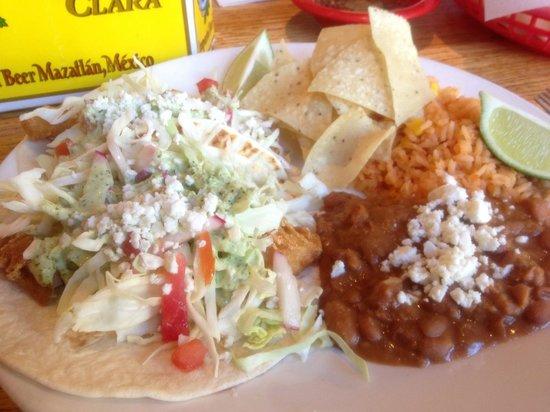 Ed's Cantina & Grill: Fish Tacos at Catina Grill