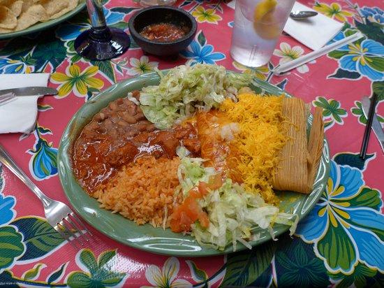 La Posta de Mesilla: Plentiful main course