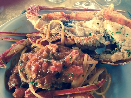 CuCumiao: Linguini con bogavante