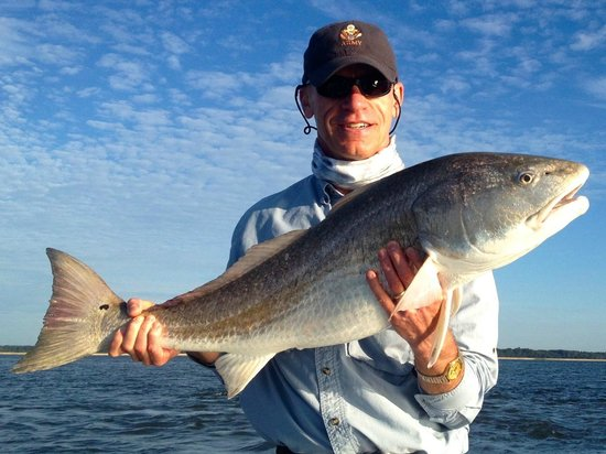 Off The Hook Fishing Charters: HH bull redfish!