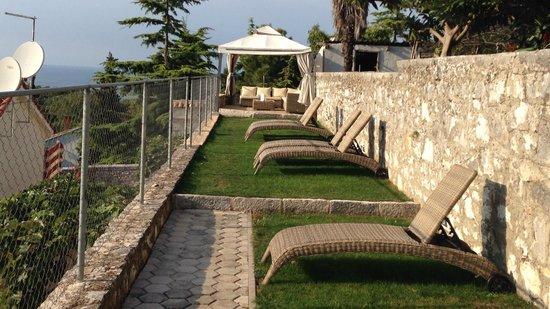 Hotel Vista : il giardino