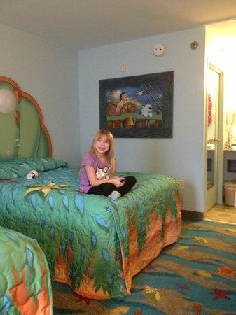 Disney's Art of Animation Resort: Little Mermaid standard room