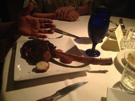 Killen's Steakhouse: ribeye tomahawk