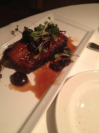 Killen's Steakhouse: pork belly appetizer