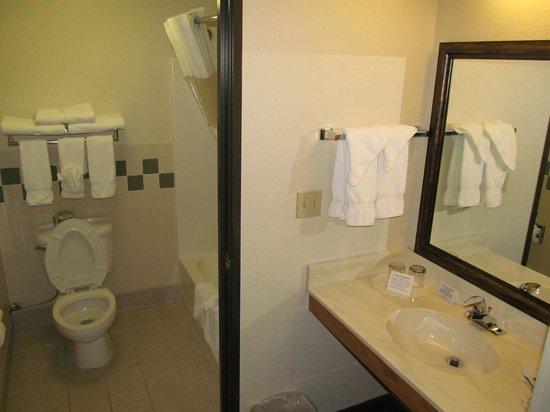 AmericInn Lodge & Suites Cody - Yellowstone: AmericInn Lodge & Suites Cody: bathroom