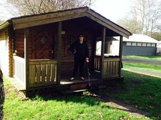 Marvelous Cape Disappointment State Park: Our Little Cabin C 3 With A Covered Porch