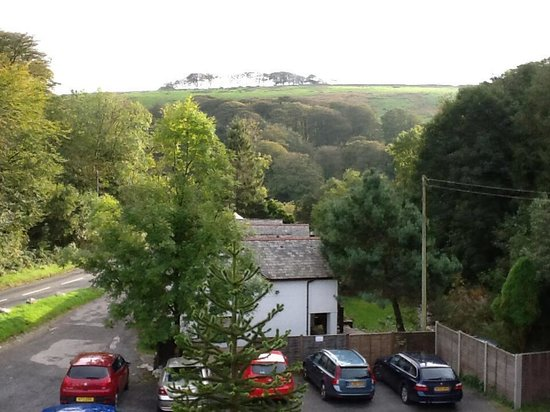 Exmoor Forest Inn: Veiw from Bedroom Window