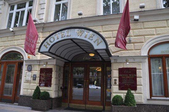 Austria Classic Hotel Wien : ホテルエントランス