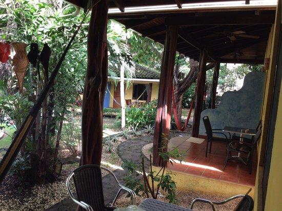 Villas Macondo: Porch