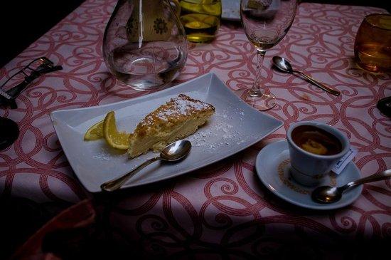 Trattoria La Grotta : Torta de limon