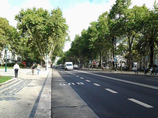 AVANI Avenida Liberdade Lisbon Hotel: Bem localizado - av. Liberdade