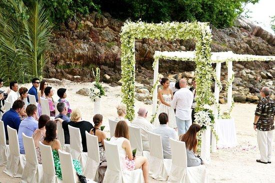 Wedding Picture Of Four Seasons Resort Koh Samui Thailand Ang