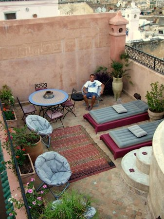 Riad Tara Hotel & Spa: Terrazzo